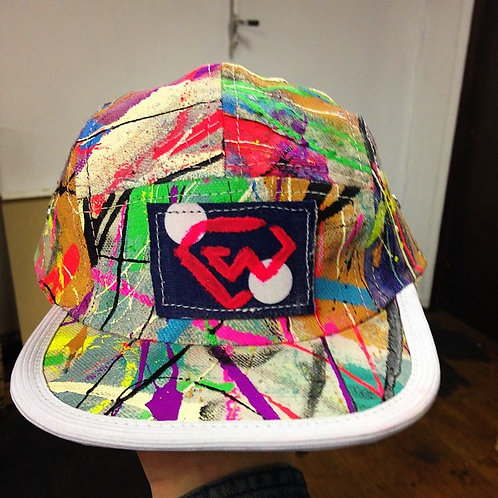 Rat Bear Handmade X Chaz Well 5 panel hat