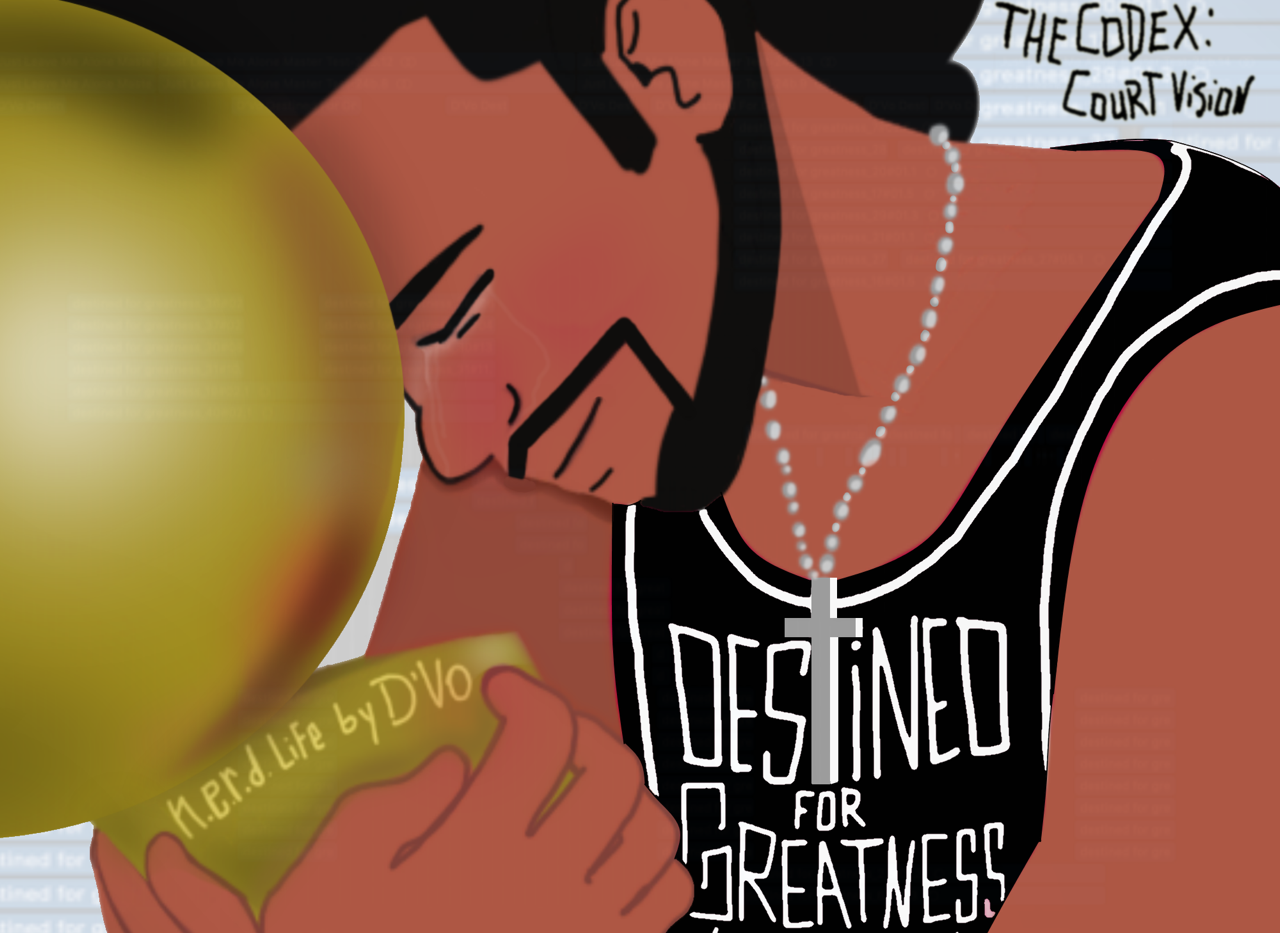 Cover Art for my song Destined For Greatness. Click the link to listen.