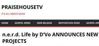 D'Vo On PraiseHouseTV