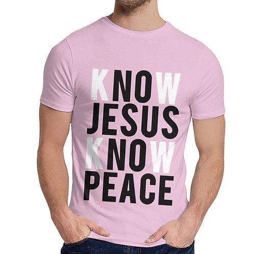 Know Jesus Know Peace Vintage T-Shirt