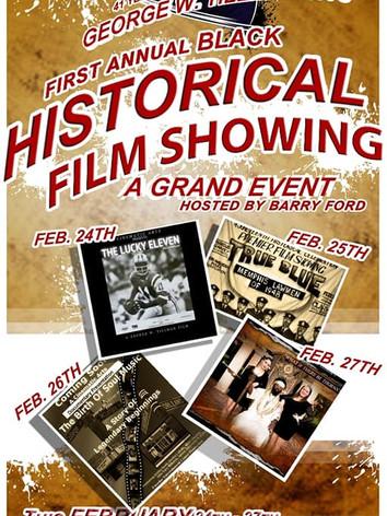 Historical Film Screenings