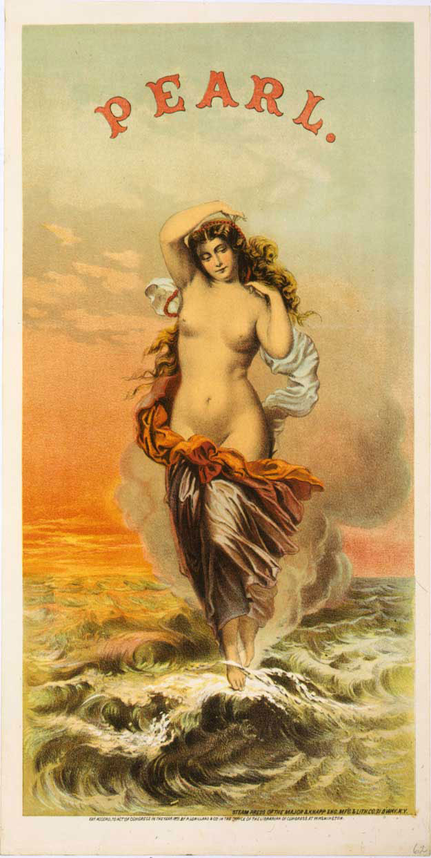 Pearl Tobacco Sexual Ad 1870