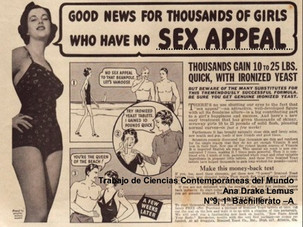 Sex Appeal 1950s ads
