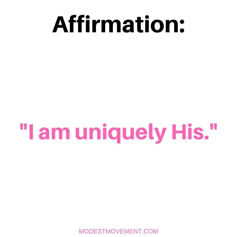 affirmations to speak to myself