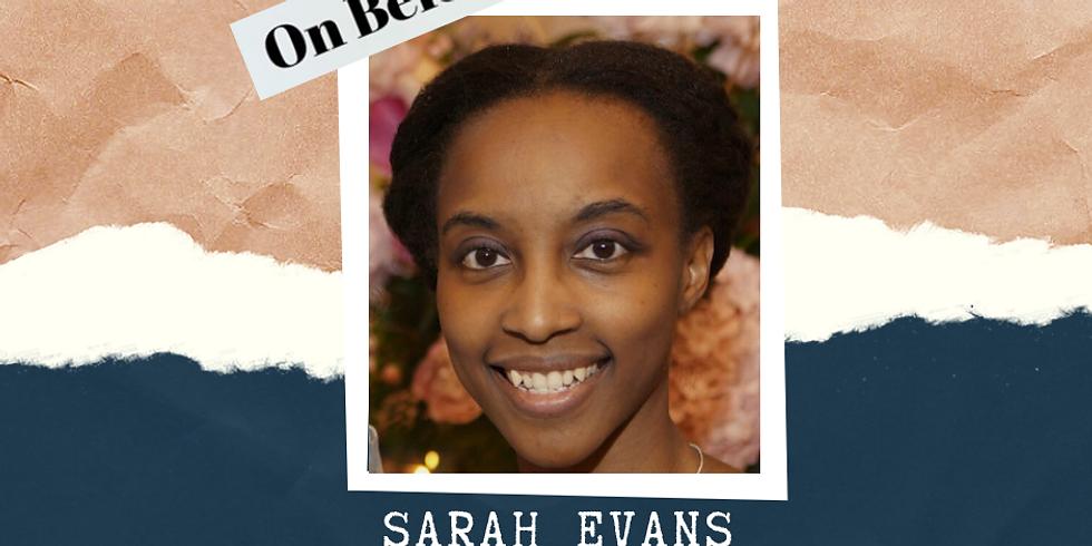 On Belonging: Arielle Nobile and Sarah Evans FB Live