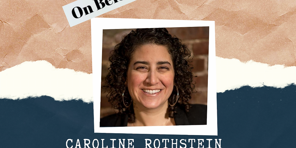 On Belonging Arielle Nobile and Caroline Rothstein FB Live