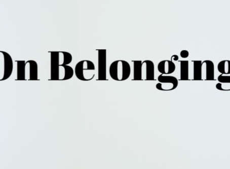 On Belonging FB Live Interview with Kat Brown, the newest member of the Belonging in the USA team.
