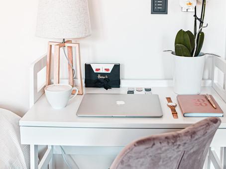 INSPIRACE: Můj home office