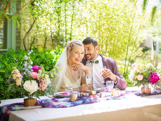 Bright & Bold – An eclectic wedding styled shoot celebrating all things Chosen!