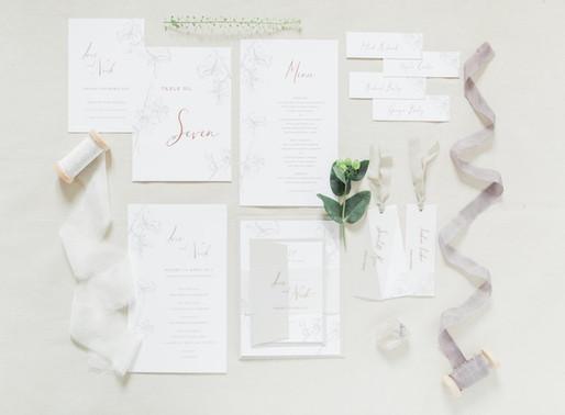 Wedding Supplier Spotlight: Inkflower Press