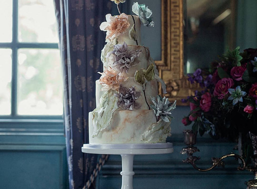 5 Floral Inspired Wedding Cakes