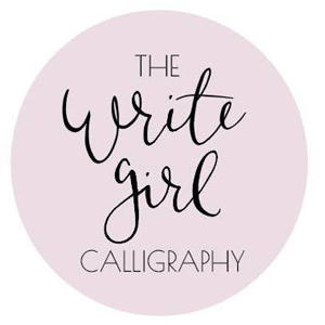 The Write Girl Calligraphy