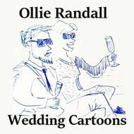 Ollie Randall Wedding Cartoons