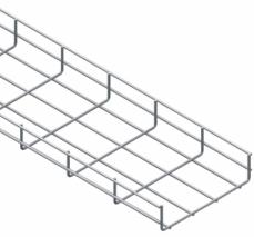 Jgheab metalic sârmă 600x54x3000x4MM