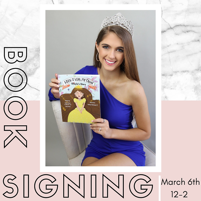 """""""When I Wear My Crown"""" Book Signing"""