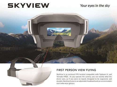 Skyview L First Person View (FPV) Headset