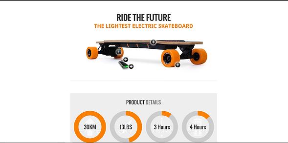 DR-one Ego Skateboard