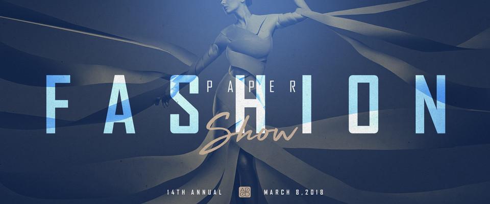 Paper Fashion Show