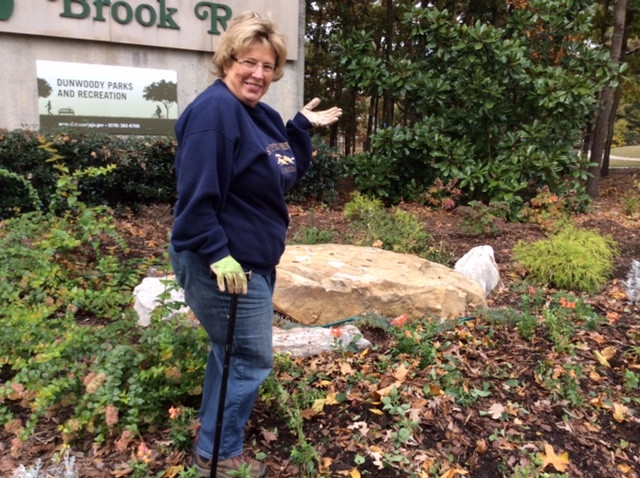 Barbara at Brook Run Workday