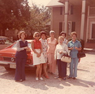 """Smith House """"Tour of the Month"""" 1973"""