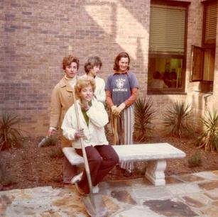 Dunwoody High School Courtyard Project 1973