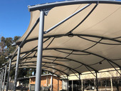 Covered outdoor learning area - COLA