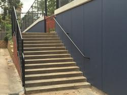 Retaining Wall access