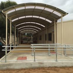 Transportable Entryway Complete