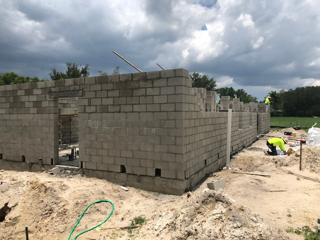 We are so excited to see our future building making so much progress!
