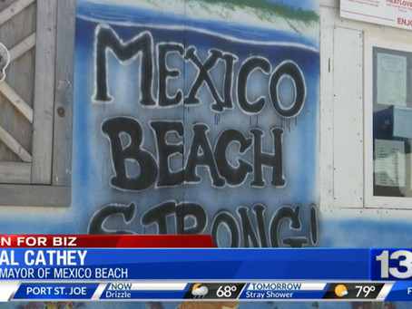 News 13: The City Of Mexico Beach Continues To Rebuild Post Hurricane Michael