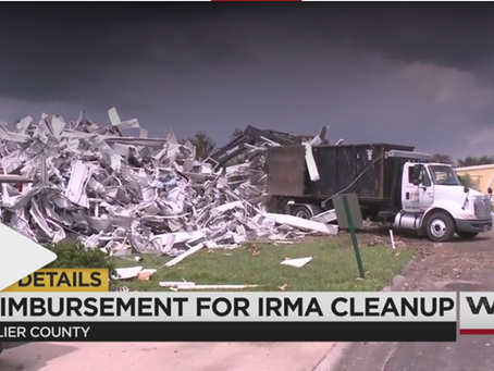 WINK News: Gov. DeSantis announces $40.9M in Hurricane Irma relief funds for Collier County