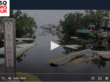 PBS NewsHour: Why the Florida Keys still need support, a year and a half after Hurricane Irma
