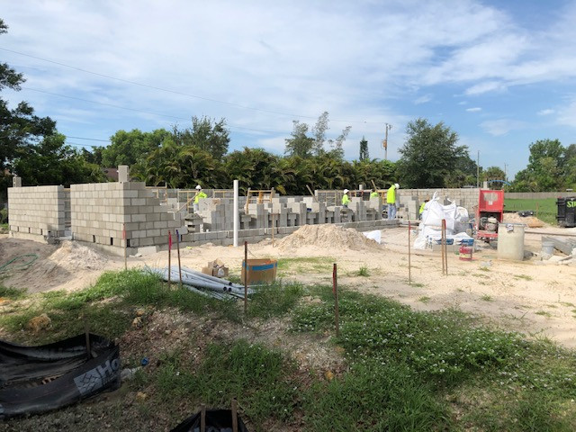 The walls are going up on the Southwest Florida Autism Support Center.