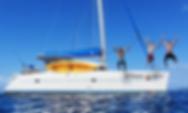 Yacht Guiding Light Crewed Catamaran