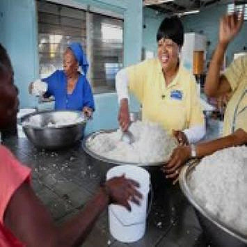 Pastor Wade Feeding Haitians