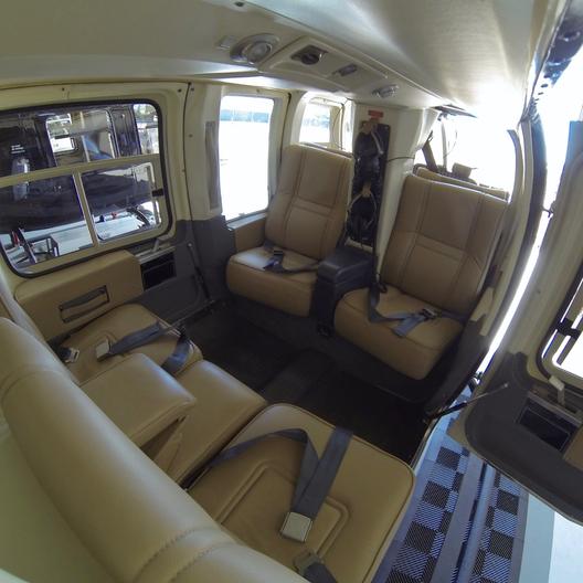 Bell 206L-1 Cabin