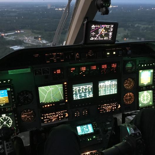 Bell 430 Cockpit