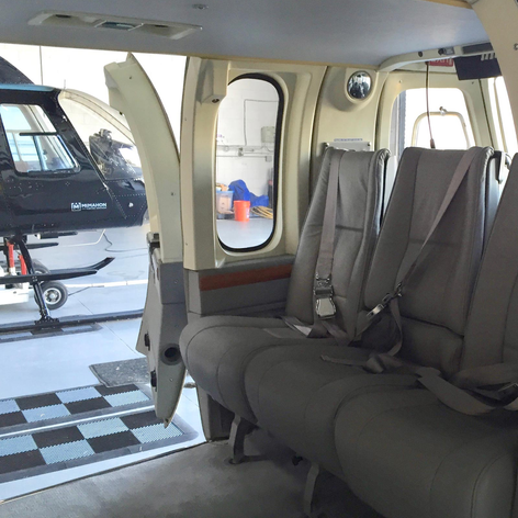 Bell 430 Forward Cabin