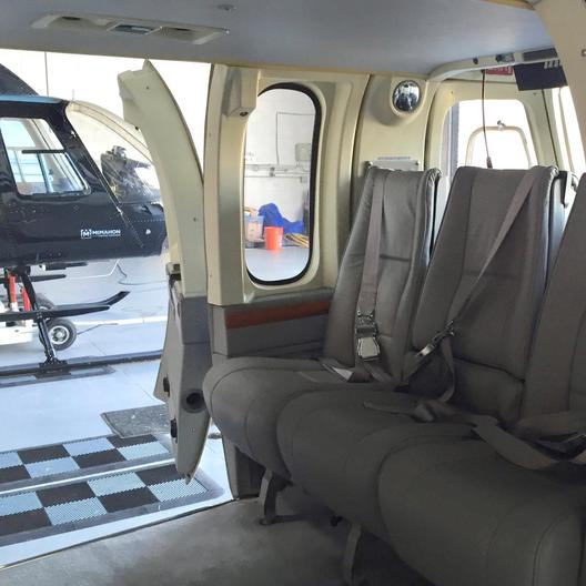 Bell 430 Forward Cabin