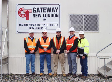 Connecticut Port Authority selects Gateway as new operator of State Pier New London