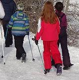 marche nordique enfants centre de loisirs