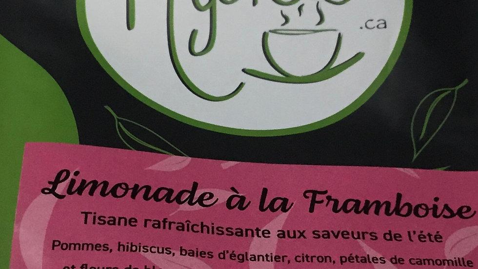 Thé- Limonade à la framboise
