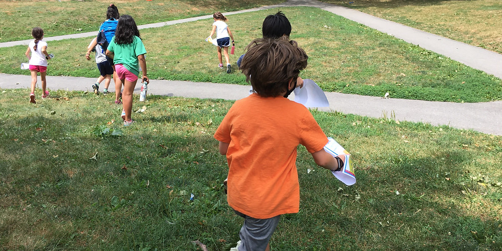 Hoyt Field orienteering: mini-games #1