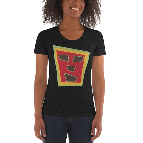 Aliens Invader Women's Crew Neck T-shirt