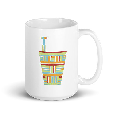 Striped Engineering Mug