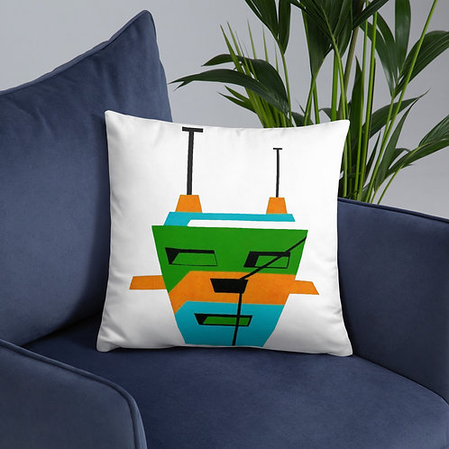 3 Colors Tripod Basic Pillow
