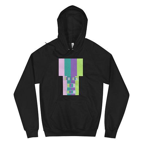 Rainrow Fro - Unisex Fleece Hoodie