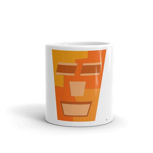 Orange Tripod Mug