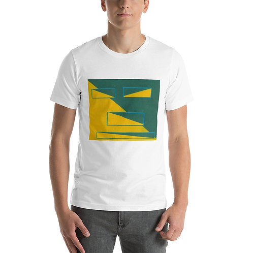 Half Squared Short-Sleeve Unisex T-Shirt