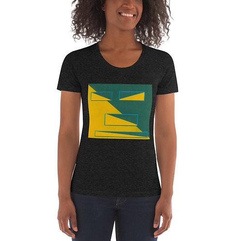 Half Squared Women's Crew Neck T-shirt